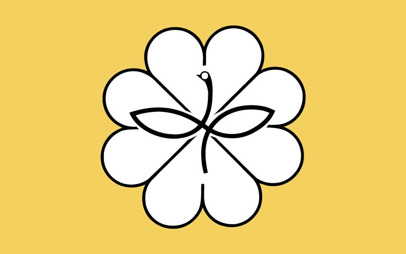 民生委員・児童委員の徽章などに用いられているマーク